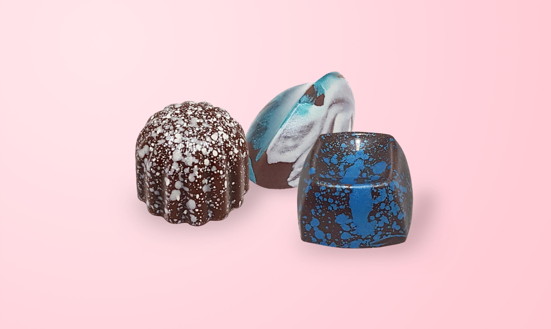 Предметная фотосъемка конфет для меню и сайта Екатеринбург