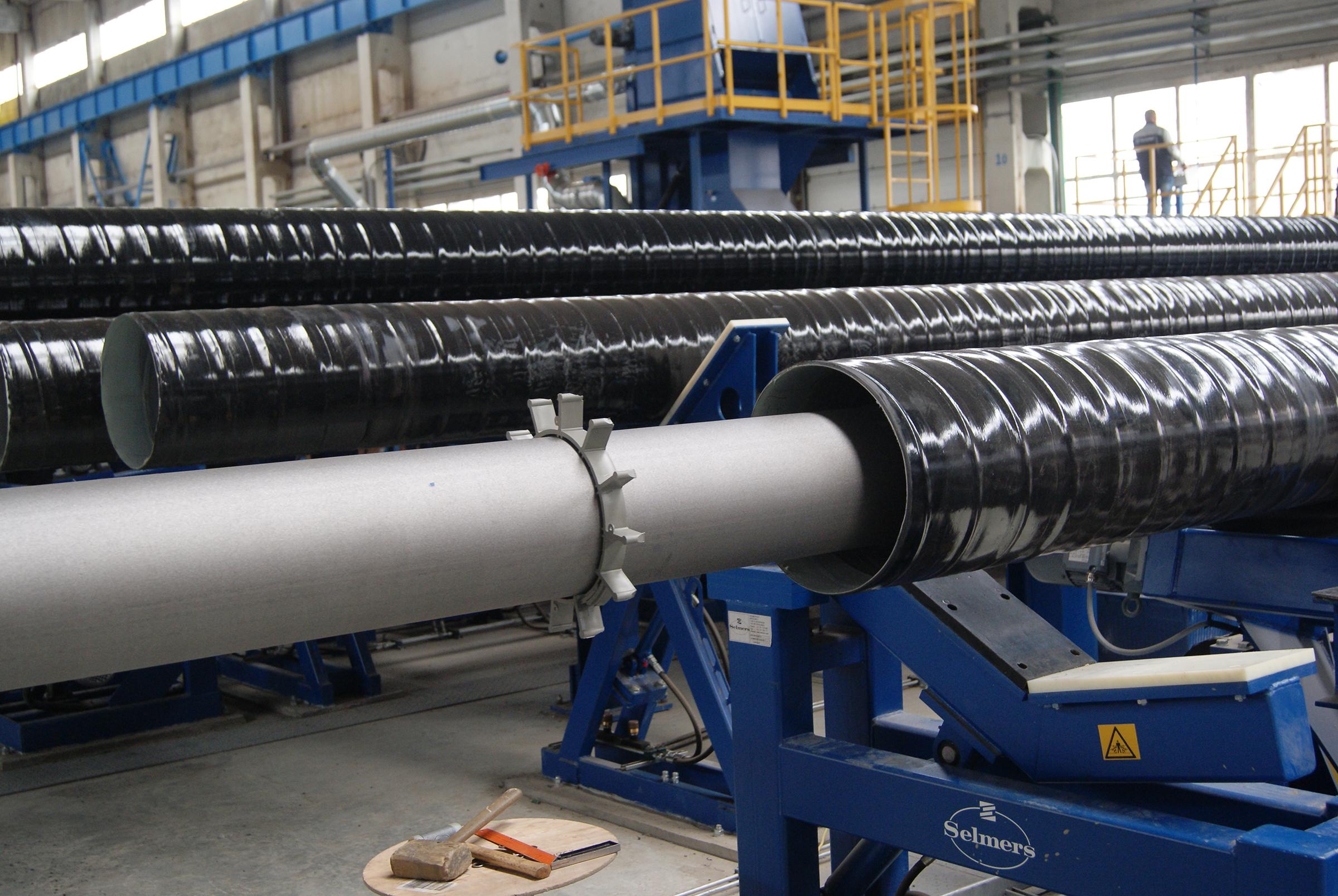 Фотосъёмка трубы на заводе Екатеринбург