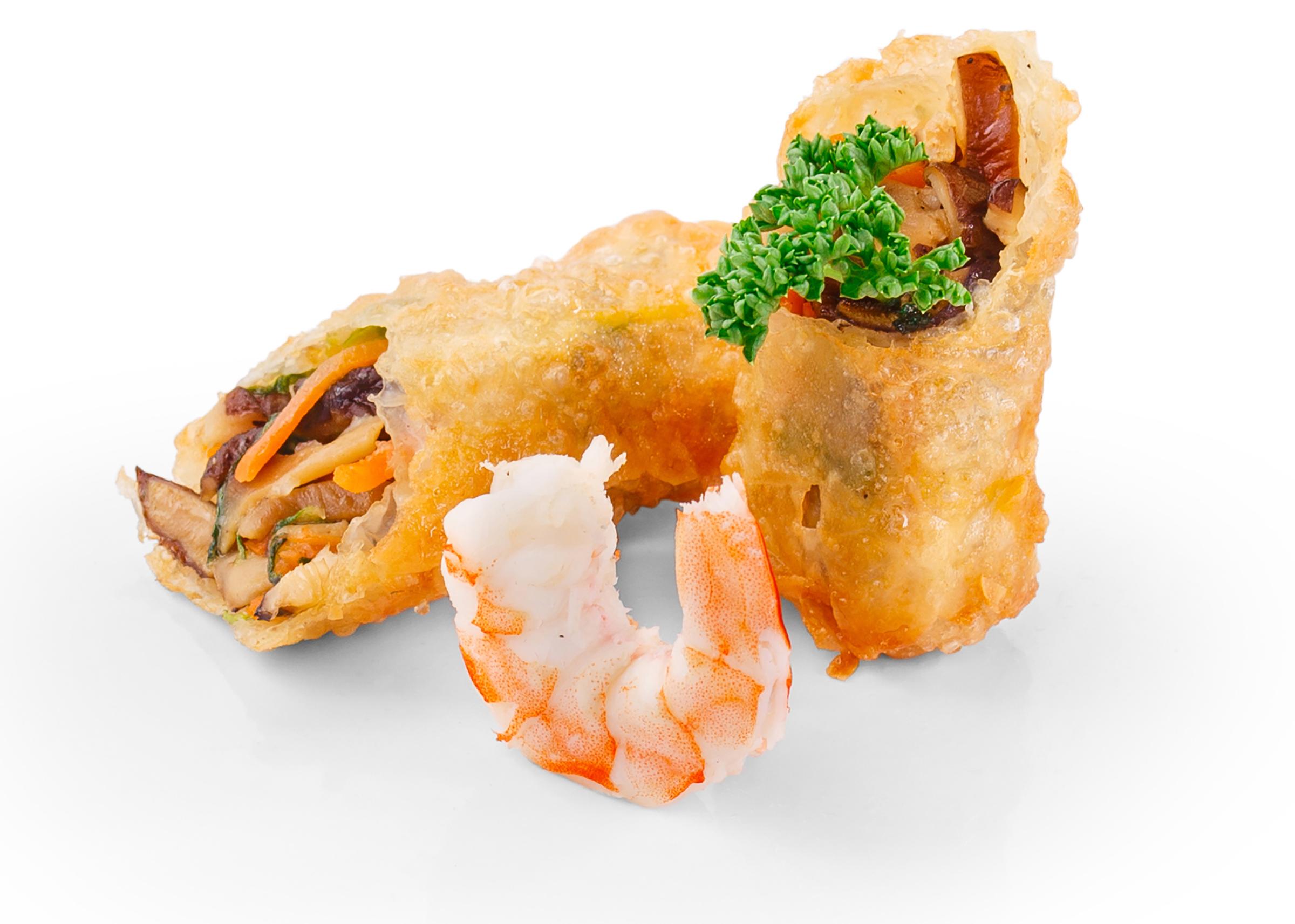 Фотосъемка еды спринг ролл для меню Екатеринбург