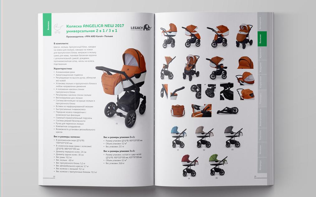 Предметная фотосъемка детских колясок для каталога и сайта Екатеринбург