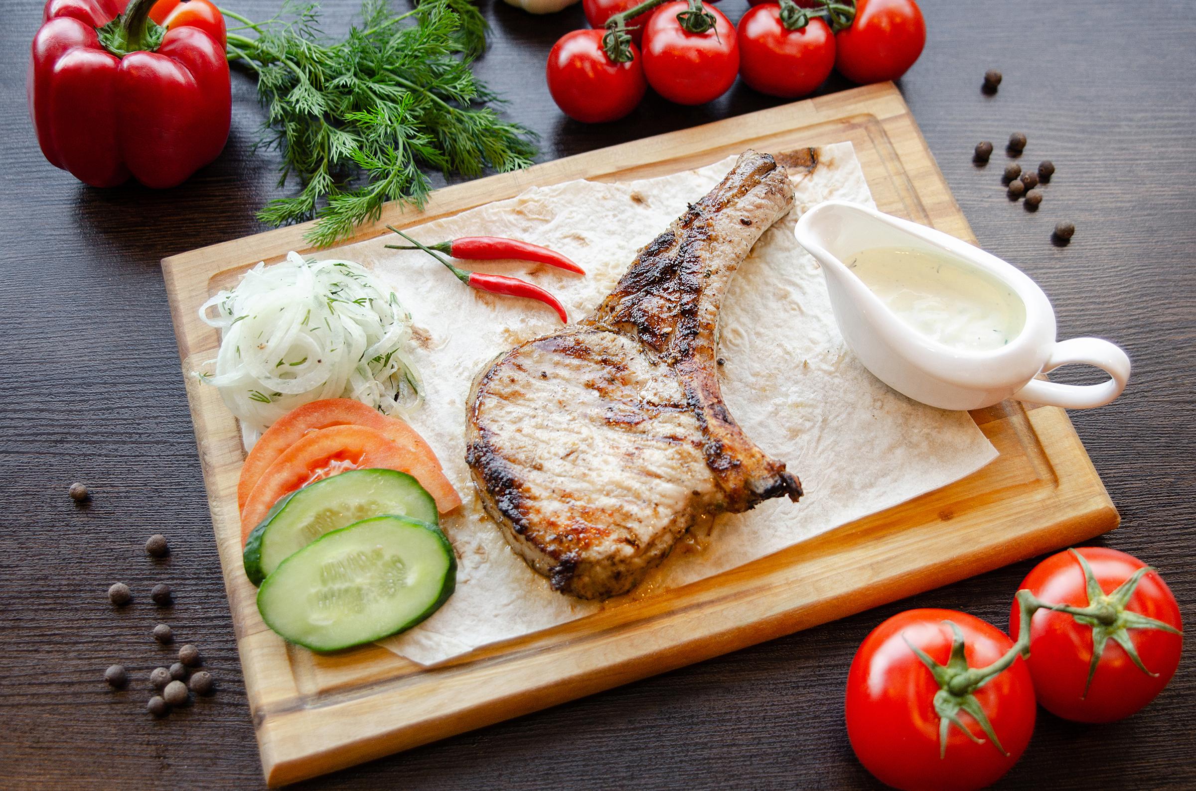 Предметная фотосъемка еды для меню и сайта Екатеринбург