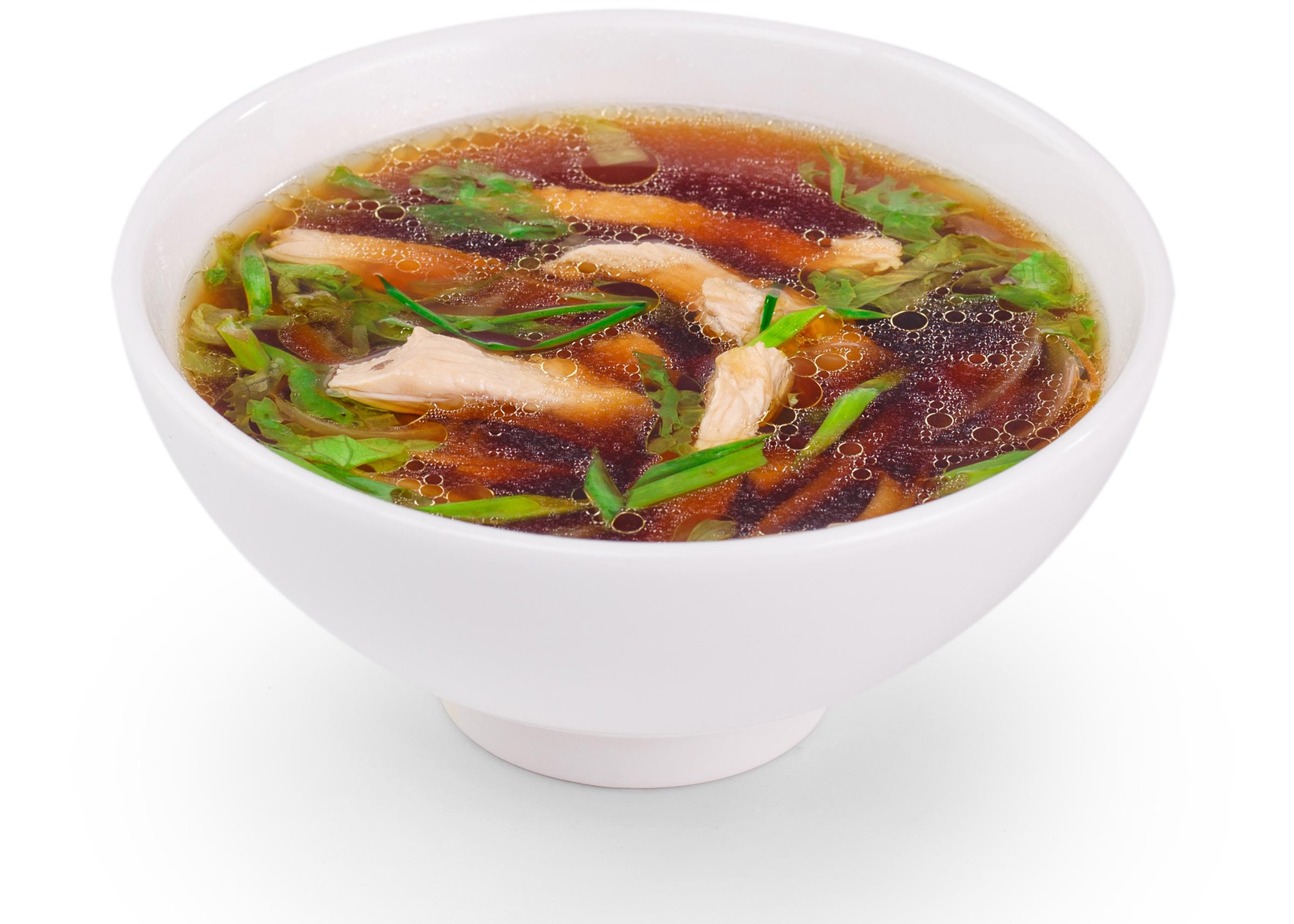 Фотосъемка еды суп для меню Екатеринбург