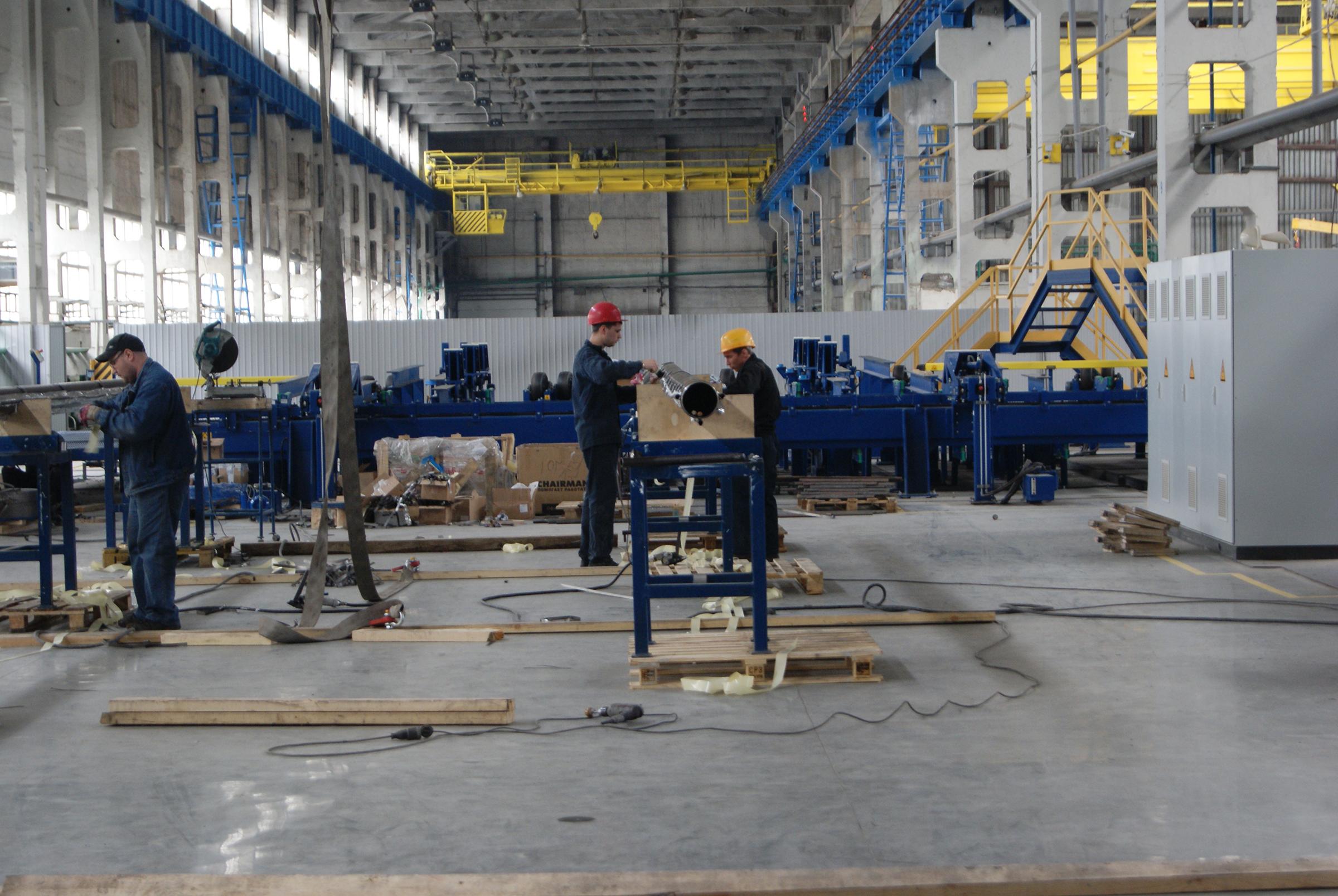 Фотосъёмка рабочих процессов на заводе Екатеринбург