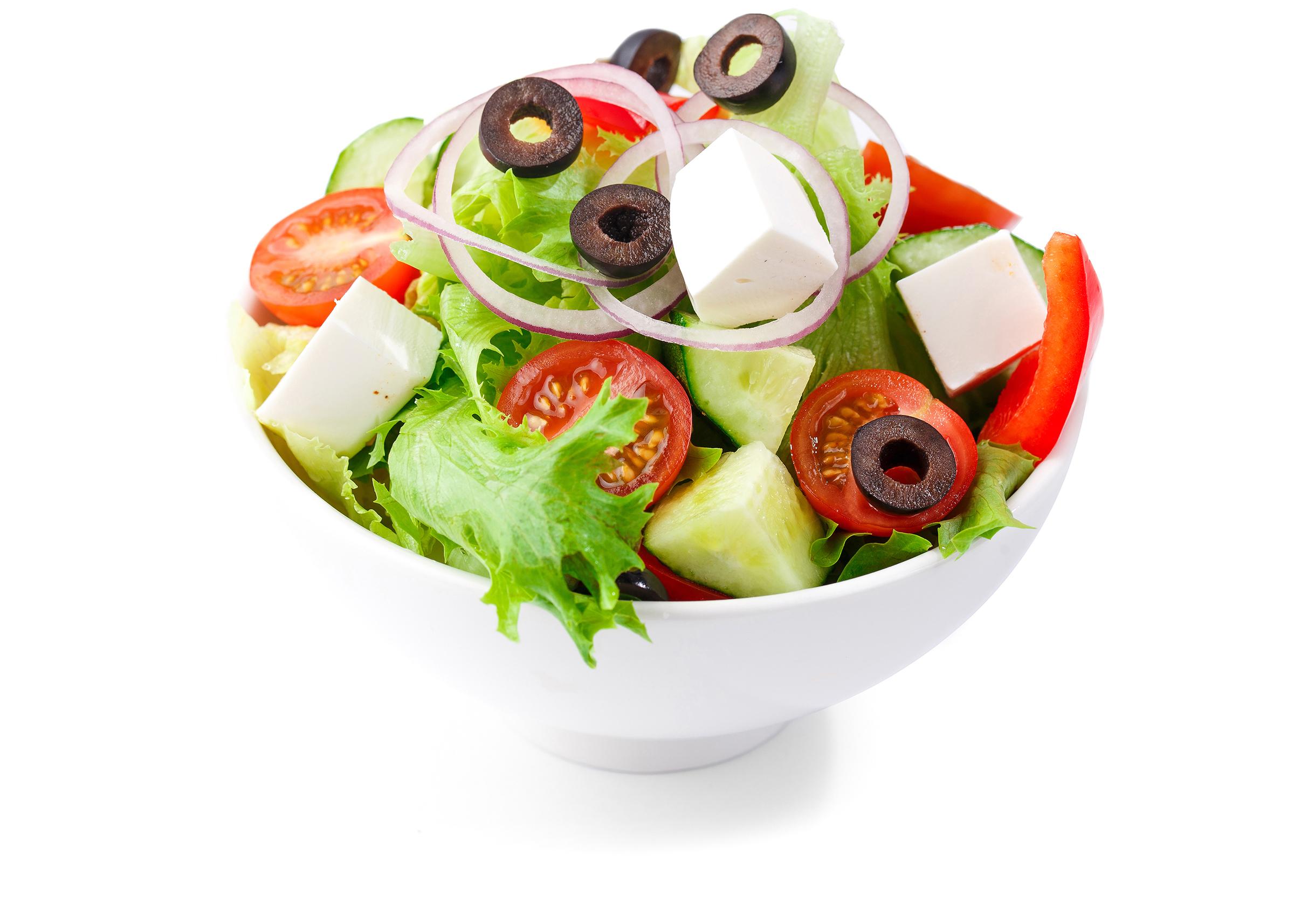Фотосъемка еды салат для меню Екатеринбург