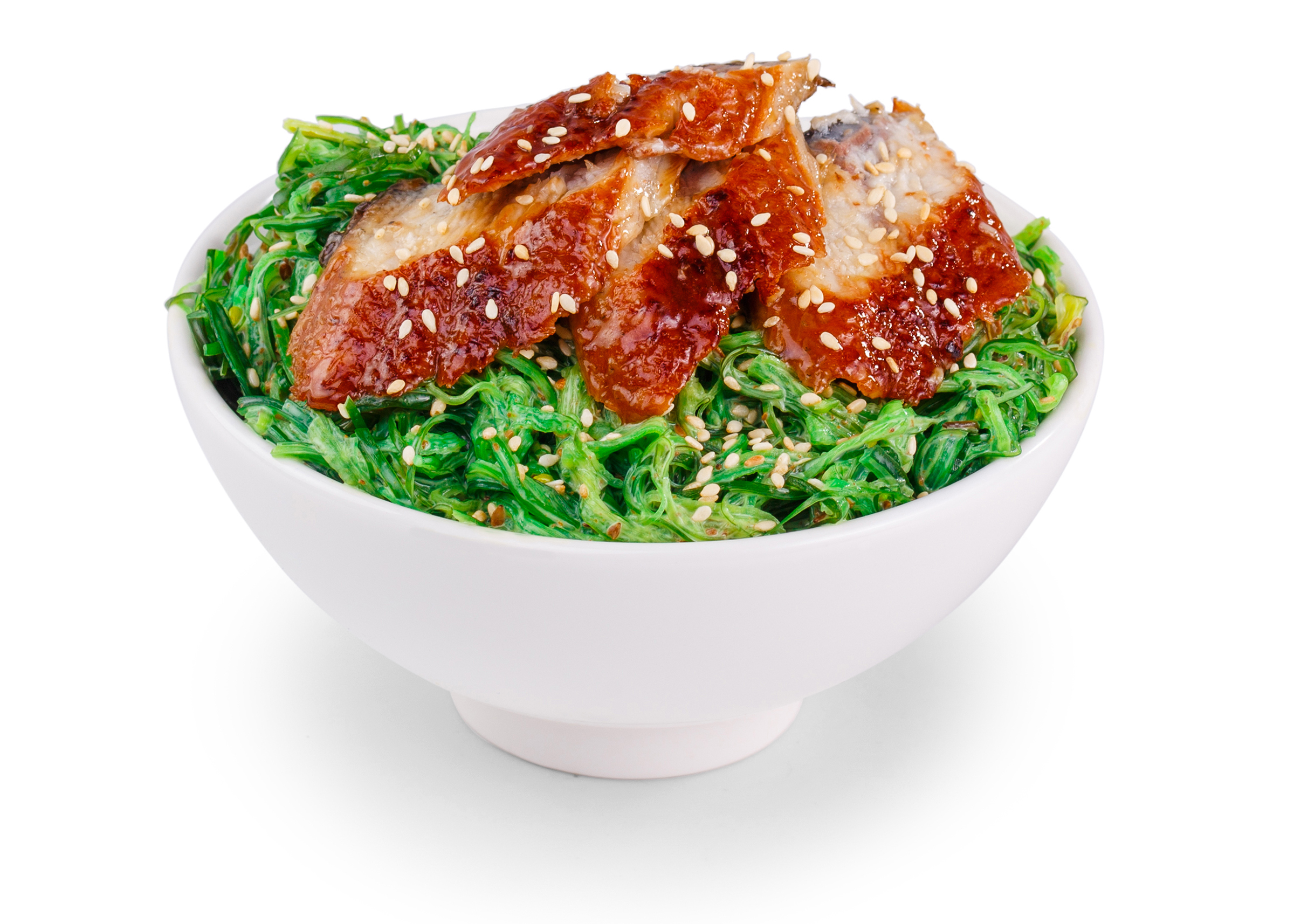 Фотосъемка еды салат чука для меню Екатеринбург