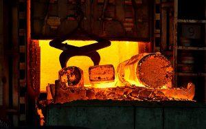 Фотосъемка кузнечного цеха на уральском заводе