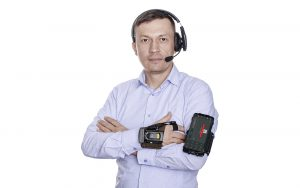 Демонстрационная фотосъемка аппаратуры для сайта